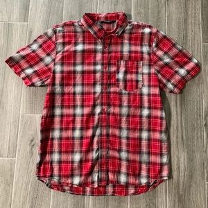 VANS RED PLAID SHIRT